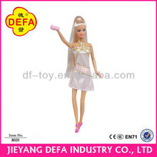 DEFA plastic dolls for 3+ years girls 11.5 inch craft dolls