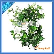 Green Silk Artificial Wedding Decorative Ivy Garland (J9015)