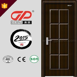 China supplier home used 3D bedroom design interior door, pvc door, wooden door