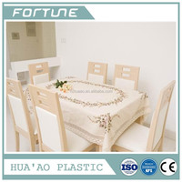 PVC PLASTIC PRINT FILM USED TABLECLOTHS FOR SALE