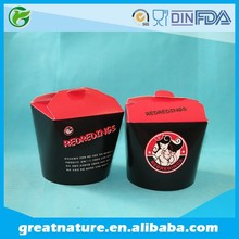 Disapoble fast food container plastic food container food container