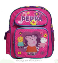 "New Pink Purple Toddler 12"" School Backpack"