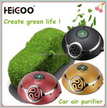 2015 Car air purifier promotion time Cheap gift box