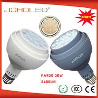 High lumens 2400lm Ra80 cree 30w e27 led par light par30
