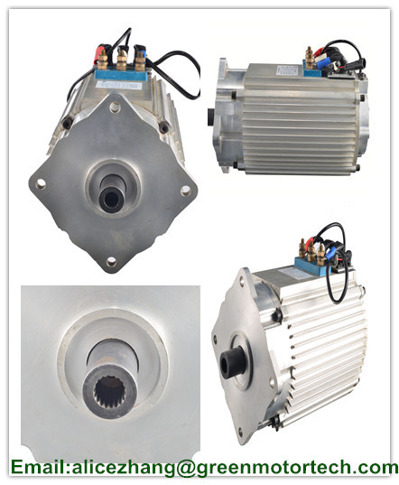 CE ISO ROHS Certification and 2 Phase ac motor electric car motor 20kw