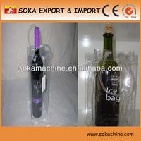 clear wine cooler plastic bag