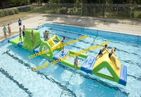 High quality inflatable obstacle water park, inflatable water floats