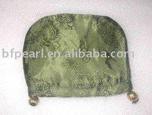 Résultats de bijoux, Lumière vert olive ombrage broder tissu de nylon sac ( 110 mm )