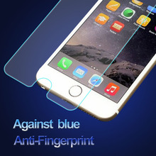 Perfect Use 100% Full Cover color tempered glass screen protector with small frame for iphone 6