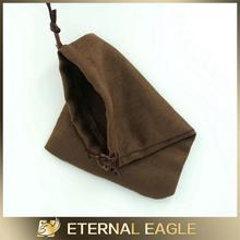 Hot selling suede jewelry pouch, high quality microfiber cleaning cloth with customized design, microfiber cleaning pouch