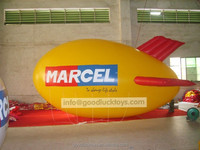 6 meters Inflatable Advertising Helium Blimp/Airship/Zeppeline with Your BIG LOGO as you want