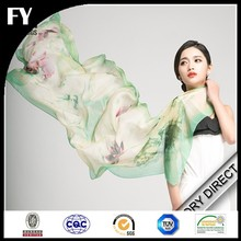 Digital printed scarf /printed silk scarf factory