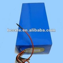 Popular type lithium ion 36v/10ah lifepo4 battery pack