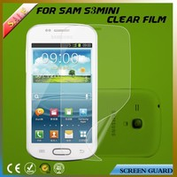 Professional clear mobile phone screen protector/film/guard for Samsung S3 mini