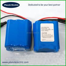 OEM 18650 li-ion 3S2P 11.1v 4400mah battery pack with PVC shrink package