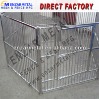 High Quality Wholesale Square Tube Dog Cage