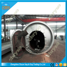Zero Pollution Reproducible continuous used oil recycling factory for tire pyrolysis oil