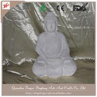 Wholesale Buddha Statues Tall Antique Budda Statue Monk Figurine Stone Figurine