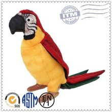 2015 Advertising Custom parrot soft toy