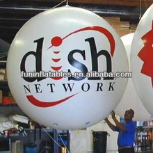 inflatable sphere for advertising