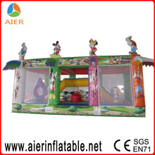Circus theme party supplies, inflatable jumping castle