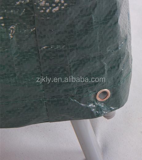 De haute qualité en plein air vert PE chaise couverture en gros