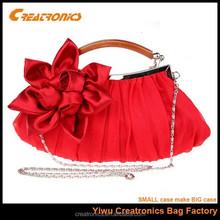 2015 hot Classic evening bag rose border,ladies bag
