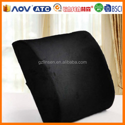 2014 hot sale wholesale LinSen memory foam back support cushions office chairs