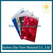 Reusable christmas metalized bags for packing gift