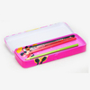 Recyclable Feature customized factory rectangular tin pencil box