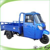 200cc cargo tricycles with closed cabin on sale
