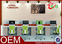 2015 new arrival office used 8 person combination office partition M1577