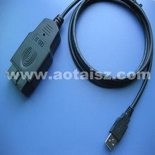 Auto parts OBD test cable to car USB charge