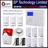 GSM Wireless Smart Security Alarm System, Smart Self Monitoring Wireless Alarm System