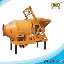 Gear rotation dry concrete mixer concrete columns JZC450