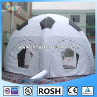 customized inflatable football tent for camping or event