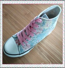 2015 cheap wholesale vulcanized canvas shoes for girls in china
