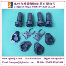 Plastic Adjustable Cabinet Leg/Leveling Feet +Drill Pattern End Panel Support +Combinet Clip