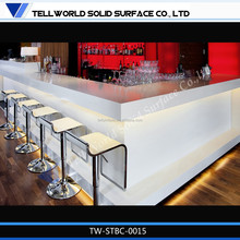 Nice bar counter price Modern Led lighted bar counter price