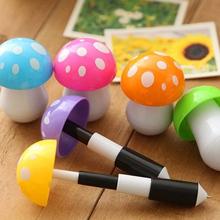 Logo Printing New Arrival Mushroom Plastic Ball Pen for Children Gift very Cheap Good Gesture Design Promotional Ball Pen NN-205
