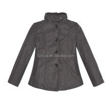 2014 Ladies Winter Warm Women Jacket Ladies' Fake Wool Coat (Manufacturer Direct Supply)