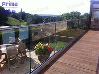 Chrome balcony railing chrome railing for balcony systems (PR-B107)