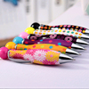 Creative And Colorful Rotation Ballpoint Plastic Pen For Promotion Or School