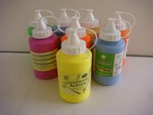 500ml paint artist, industrial acrylic paint, fast drying acrylic paint, EN71-3,EN71-9