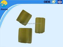 Yellow PU/Polyurethane cnc milling&turning part and plastic cnc rapid prototyping