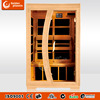 Hot selling infrared sauna cabin L2E Carbon heater 2 people infrarotkabine