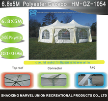 Big two Top Romantic Wedding Canopy Hexagona Gazebo Tent