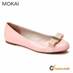 MK073-1Pink New design women shoes, handmade women shoes, China supplier shoes ladies flat shoes