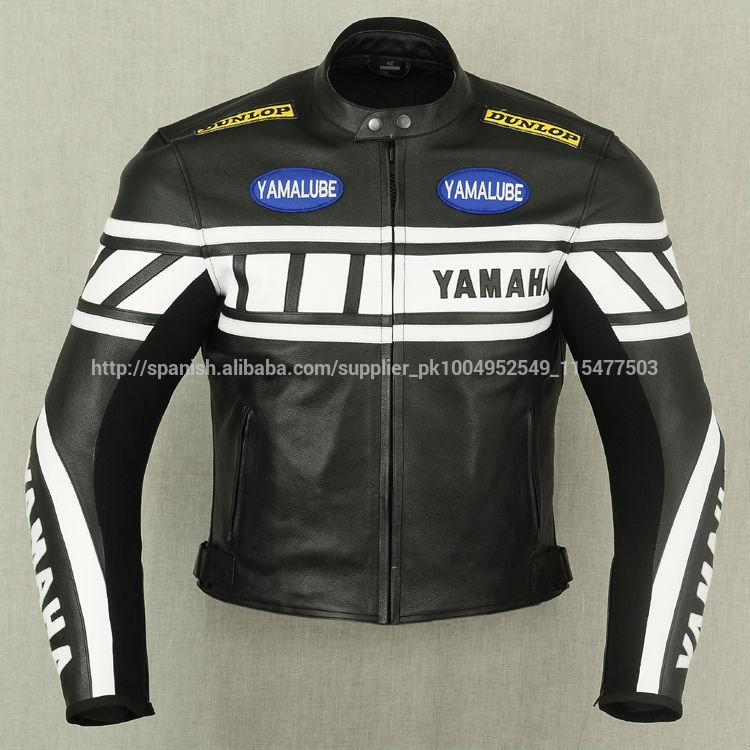 Yamaha classic Cuerojaqueta de corrida de moto jaqueta de couro auto raça chaqueta de motociclista nueva chaqueta de protección