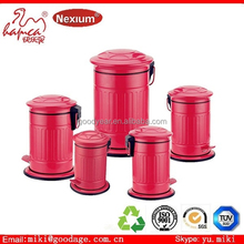 The trash can manufacturer 3 compartment recycle outdoor garbage bin